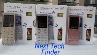 Kechaoda K115 Card Size mobile Review