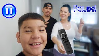 Pause Challenge With My Parents!!!