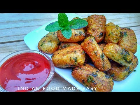 Potato Bullets Recipe in Hindi by Indian Food Made Easy
