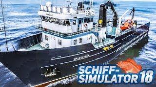 Abenteuer KRABBENFANG: Im Sturm Reusen auslegen!  - SCHIFF SIMULATOR #18 | Fishing Barents Sea