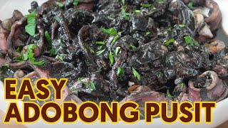 How to Cook Adobong Pusit