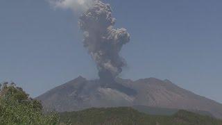 桜島9カ月ぶり爆発的噴火