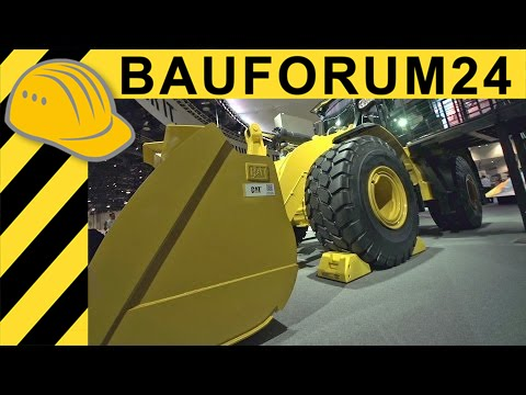 Caterpillar CAT 972M XE Wheel Loader Walkaround Interview - CONEXPO 2014 - Bauforum24 TV
