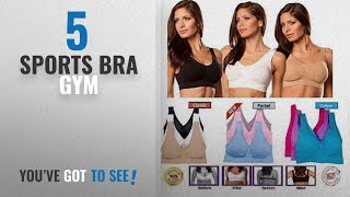 Top 10 Sports Bra Gym [2018]: Sport Bra - Women's Comfort Revolution Wirefree Everyday Bra Seamless