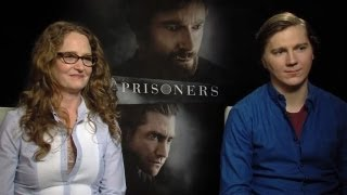 Melissa Leo & Paul Dano - Prisoners Interview at TIFF 2013 HD