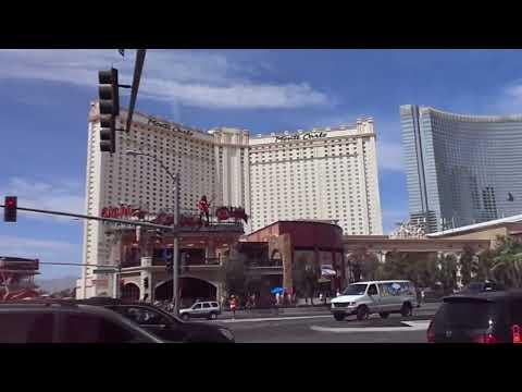 Inside Monte Carlo Hotel, Las Vegas, Blue Man, Restaurants, Pool, Shops, Bars,Tram, Lobby