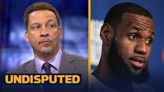 Chris Broussard on why Cavs draft has zero impact on LeBron's decision to stay   NBA   UNDISPUTED
