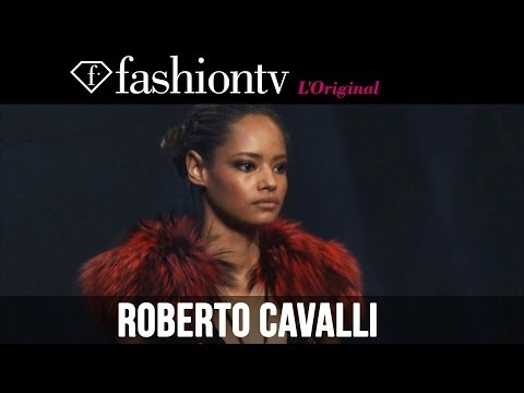 Roberto Cavalli Fall/Winter 2014-15 | Milan Fashion Week MFW | FashionTV