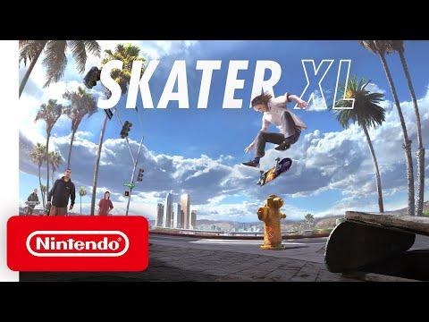 Skater XL - Announcement Trailer - Nintendo Switch