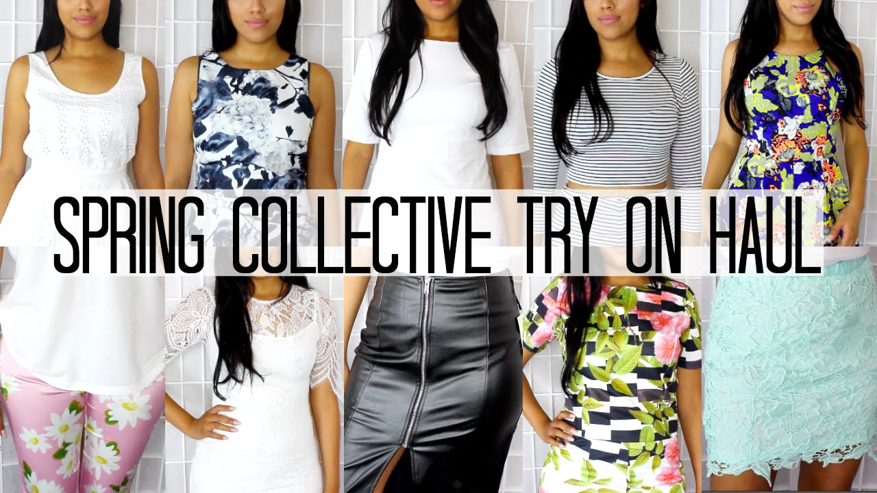 Fashion Nova Haul Try On Spring Collective try on haul