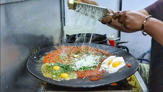 Most Hygiene 6 Layer Omelette Hotpot | Cheese Loaded Egg Dish | Egg Street Food | Indian Street Food