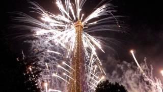 Paris By Night 14 Juillet 2014 at Eiffel Tower