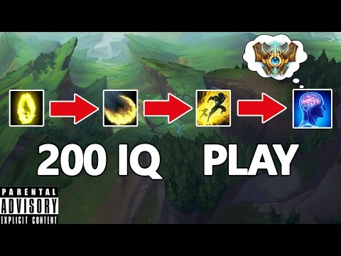 200 IQ Play - Insane Ezreal outplay...| Best LoL Moments(ft. Faker, Bjergsen, Imaqtpie,Scarra...)