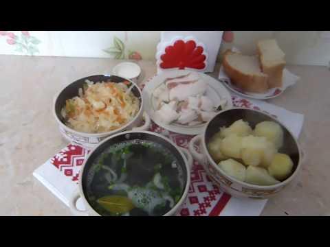 Деревенский обед времен СССР/Как готовила моя бабушка