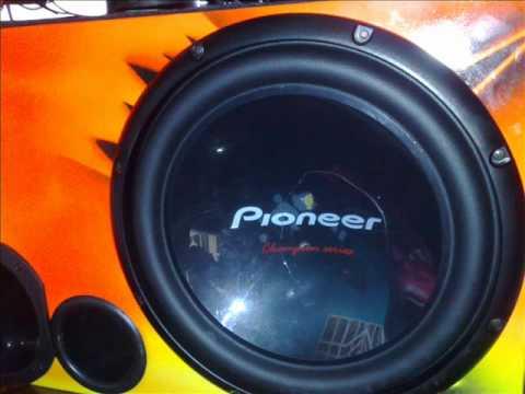 Pioneer 309 rachado.