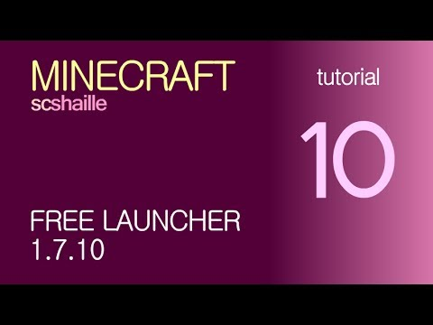 EN Minecraft tutorials: free launcher KeiNett 1.7.10 - how to download and insta