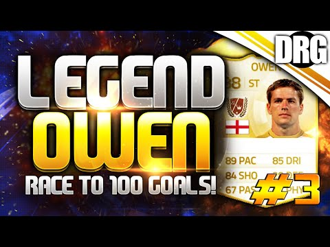 LEGEND MICHAEL OWEN!! - RACE TO 100 GOALS #3 - FIFA 15