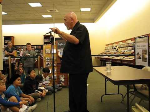 Brian Jacques, Redwall author, performing in 2007 (Part 1)