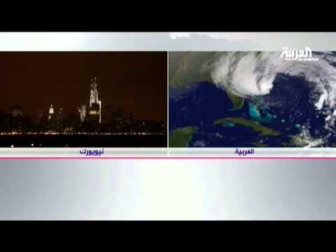 أوباما يطالب الأميركيين بتوخي الحذر من إعصار ساندي