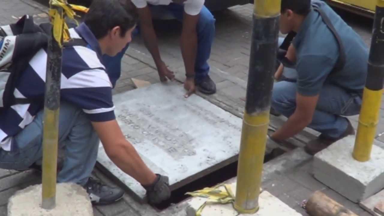 Tapa de cemento cra 7 22 55 hecha mediante autogestion - Como pulir un piso de cemento ...