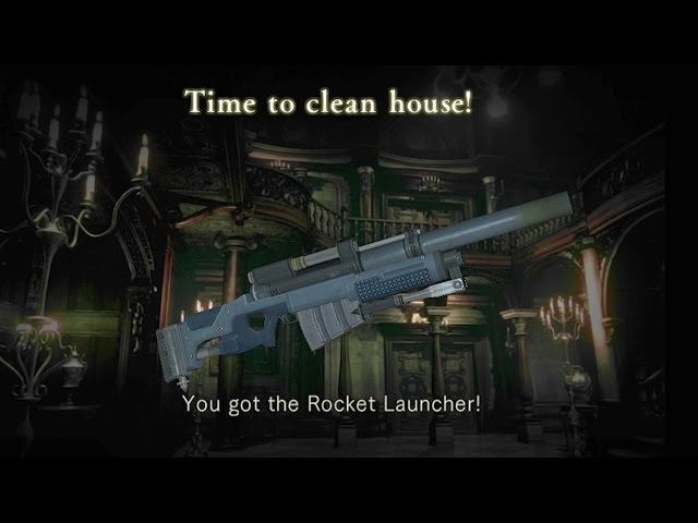 Unlimited Rocket Launcher Complete Narrated Walkthrough - Resident Evil HD Remaster