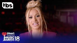 Download Lagu DJ Khaled, Cardi B and Ed Sheeran Intro the 2018 iHeartRadio Music Awards | TBS Gratis STAFABAND