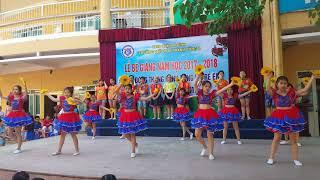 Các con khối 5 trường tiểu học Thành Công B biểu diễn trong ngày bế giảng năm học 2017- 2018