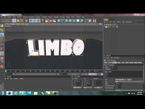 cinema 4d text Explosion tutorial