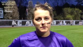 2015 JMU Softball - North Carolina Postgame Interviews - March 25, 2015