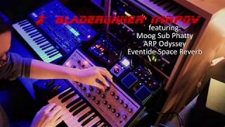 Bladerunner Synth Improv - Featuring a Moog Sub Phatty and ARP Odyssey