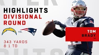 Tom Brady Leads The Big Victory Over The Chargers