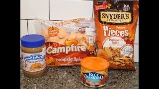 Pumpkin Spice: Peanut Butter & Co., Blue Diamond, Campfire Marshmallows & Snyder's of Hanover