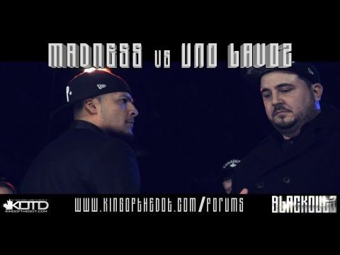 KOTD - Rap Battle - Madness vs Uno Lavoz