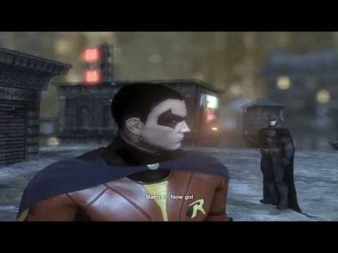 Batman Arkham City mod Batman & Robin reskin