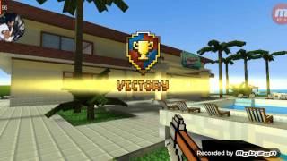 Minecraft pixel gun part 1 vua cận chiến