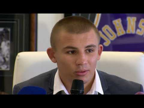Пресс-конференция чемпиона мира Александра Хижняка