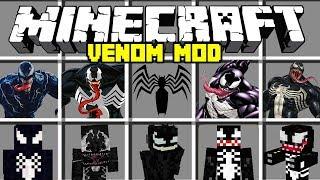 Minecraft VENOM MOD / BECOME VENOM AND BATTLE SPIDERMAN! Minecraft