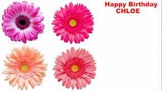 Chloe - flowers - Happy Birthday