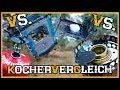 Vergleich: Hobokocher vs. Trangia vs. Gaskocher vs. Esbitkocher  - Outdoor Bushcraft Survival Kocher
