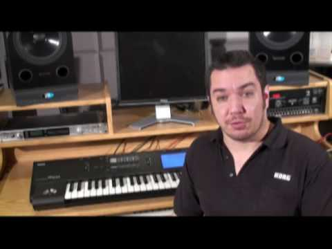 Korg M50: External Control - In The Studio with Korg-