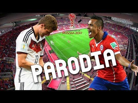 Cancion Chile vs Alemania 0-1 (Parodia Mi Gente - J Balvin, Willy William) RESUBIDO