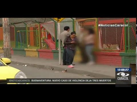 Buscan a hombre que manosea a mujeres en un paradero de Bogotá 20 de abril del 2014 12:30 p.m.