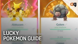 Pokémon GO: How to Get Lucky Pokémon