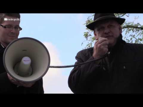 "Franz Bergmüller (AfD) spricht in Freilassing zum ""Asylwahnsinn"""