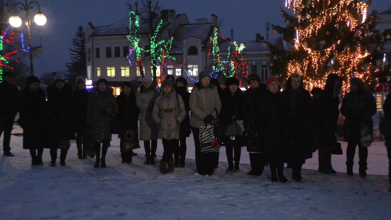 У центрі Калуша встановили Різдвяного дідуха