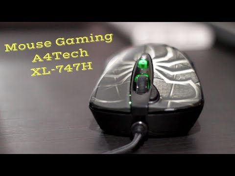 Unboxing Mouse Gaming A4Tech XL 747H Macro X7 (Bahasa Indonesia)
