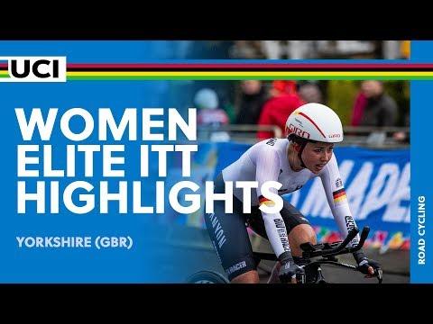 Women Elite ITT Highlights   2019 UCI Road World Championships