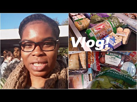 Uni Stress and Healthy Food Shopping On A Budget! - Vlog #128