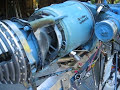Larry's gas turbine jet engine turboprop ultralight aircraft, GB103