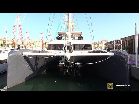2019 Lagoon 77 Catamaran - Deck and Interior Walkaround - 2018 Cannes Yachting Festival